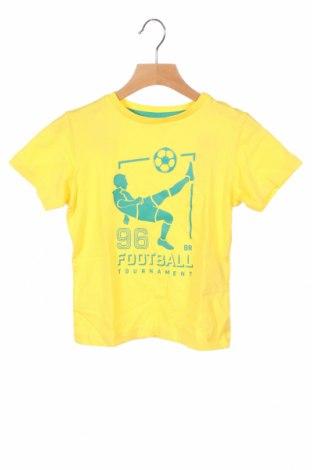 Παιδικό μπλουζάκι ZY kids, Μέγεθος 3-4y/ 104-110 εκ., Χρώμα Κίτρινο, Βαμβάκι, Τιμή 8,67€