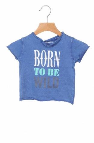 Παιδικό μπλουζάκι Zadig & Voltaire, Μέγεθος 3-6m/ 62-68 εκ., Χρώμα Μπλέ, Βαμβάκι, Τιμή 35,83€