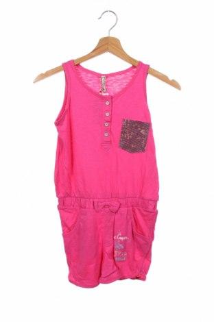 Детски гащеризон Lee Cooper, Размер 8-9y/ 134-140 см, Цвят Розов, Памук, Цена 31,50лв.