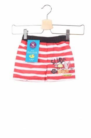 Pantaloni scurți pentru copii, Mărime 6-9m/ 68-74 cm, Culoare Roșu, Poliester, Preț 38,02 Lei