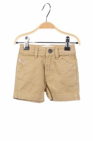 Dětské krátké kalhoty  Diesel, Velikost 2-3m/ 56-62 cm, Barva Béžová, Bavlna, Cena  268,00Kč