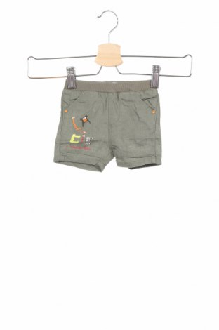 Παιδικό κοντό παντελόνι La Compagnie des Petits, Μέγεθος 2-3m/ 56-62 εκ., Χρώμα Πράσινο, 58% λινό, 42% βαμβάκι, Τιμή 3,86€