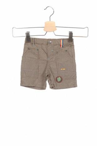 Παιδικό κοντό παντελόνι La Compagnie des Petits, Μέγεθος 3-6m/ 62-68 εκ., Χρώμα  Μπέζ, Βαμβάκι, Τιμή 9,29€