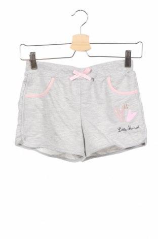 Παιδικό κοντό παντελόνι Little Marcel, Μέγεθος 12-13y/ 158-164 εκ., Χρώμα Γκρί, 70% πολυεστέρας, 30% βαμβάκι, Τιμή 6,20€