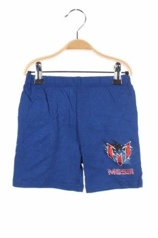 Παιδικό κοντό παντελόνι Sun City, Μέγεθος 3-4y/ 104-110 εκ., Χρώμα Μπλέ, Βαμβάκι, Τιμή 3,79€