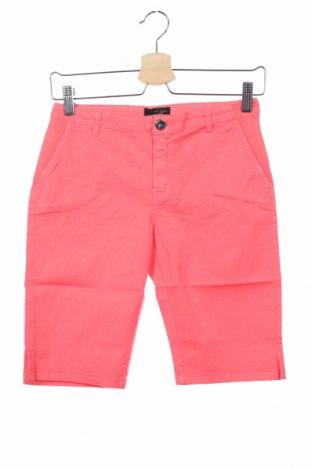 Pantaloni scurți pentru copii TWINSET, Mărime 11-12y/ 152-158 cm, Culoare Roz, 97% bumbac, 3% elastan, Preț 53,65 Lei