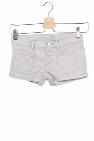 Pantaloni scurți pentru copii Zadig & Voltaire, Mărime 5-6y/ 116-122 cm, Culoare Gri, 97% bumbac, 3% elastan, Preț 20,83 Lei