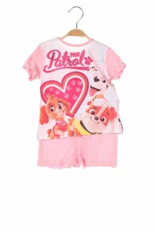 Παιδικό σύνολο Nickelodeon, Μέγεθος 2-3y/ 98-104 εκ., Χρώμα Ρόζ , Βαμβάκι, Τιμή 14,74€