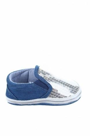 Παιδικά παπούτσια Chicco, Μέγεθος 19, Χρώμα Ασημί, Κλωστοϋφαντουργικά προϊόντα, Τιμή 8,59€