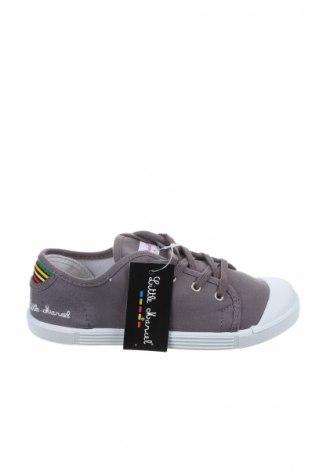 Детски обувки Little Marcel, Размер 33, Цвят Сив, Текстил, Цена 23,52лв.