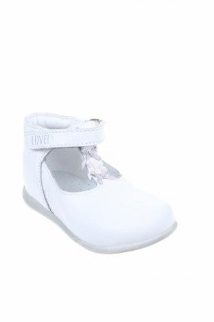 Παιδικά παπούτσια Orchestra, Μέγεθος 20, Χρώμα Λευκό, Γνήσιο δέρμα, Τιμή 19,73€