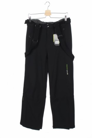 Детски панталон за зимни спортове Peak Mountain, Размер 15-18y/ 170-176 см, Цвят Черен, 84% полиестер, 16% еластан, Цена 69,30лв.