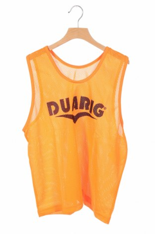Μπλουζάκι αμάνικο παιδικό Duarig, Μέγεθος 12-13y/ 158-164 εκ., Χρώμα Πορτοκαλί, Πολυεστέρας, Τιμή 1,03€