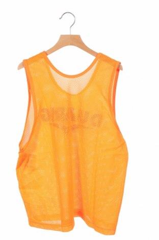 Μπλουζάκι αμάνικο παιδικό Duarig, Μέγεθος 12-13y/ 158-164 εκ., Χρώμα Πορτοκαλί, Πολυεστέρας, Τιμή 3,20€