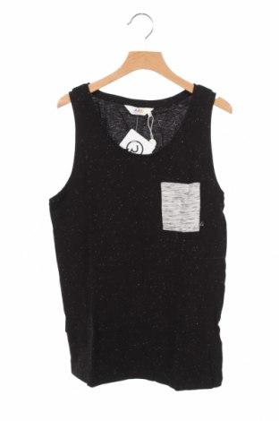 Μπλουζάκι αμάνικο παιδικό Eleven Paris Little, Μέγεθος 13-14y/ 164-168 εκ., Χρώμα Μαύρο, 98% βαμβάκι, 2% πολυεστέρας, Τιμή 17,68€