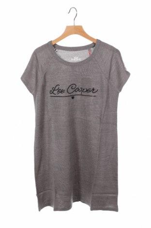 Детски пуловер Lee Cooper, Размер 15-18y/ 170-176 см, Цвят Сив, Акрил, Цена 31,85лв.