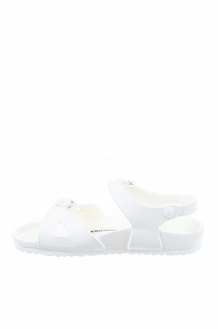 Παιδικά σανδάλια Birkenstock, Μέγεθος 34, Χρώμα Λευκό, Πολυουρεθάνης, Τιμή 40,72€