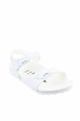Παιδικά σανδάλια Birkenstock, Μέγεθος 27, Χρώμα Λευκό, Πολυουρεθάνης, Τιμή 24,43€