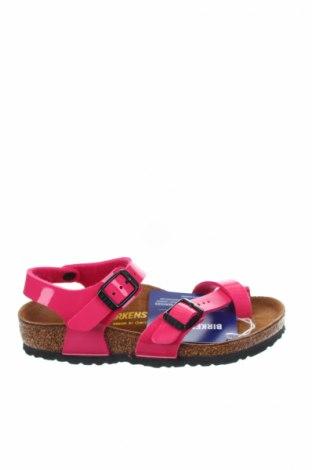 Παιδικά σανδάλια Birkenstock, Μέγεθος 27, Χρώμα Ρόζ , Πολυουρεθάνης, Τιμή 24,43€