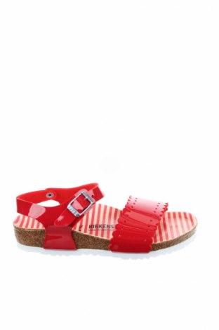Детски сандали Birkenstock, Размер 30, Цвят Червен, Полиуретан, Цена 59,25лв.