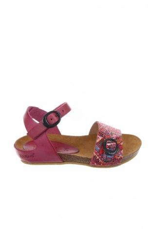Παιδικά σανδάλια Kickers, Μέγεθος 24, Χρώμα Ρόζ , Γνήσιο δέρμα, Τιμή 26,47€