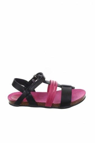 Παιδικά σανδάλια Kickers, Μέγεθος 29, Χρώμα Μαύρο, Γνήσιο δέρμα, Τιμή 26,47€