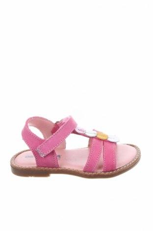Детски сандали Orchestra, Размер 24, Цвят Розов, Естествена кожа, Цена 51,75лв.