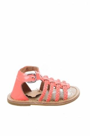 Детски сандали Orchestra, Размер 22, Цвят Розов, Естествена кожа, Цена 15,87лв.