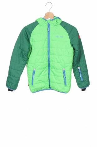 Детско яке за зимни спортове Trollkids, Размер 9-10y/ 140-146 см, Цвят Зелен, Полиестер, Цена 50,60лв.
