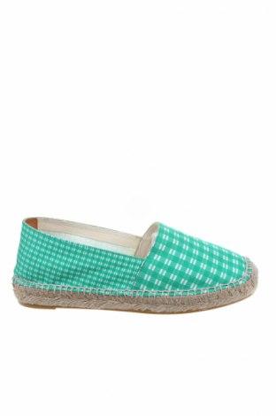 Εσπάδριλλες Castaner, Μέγεθος 38, Χρώμα Πράσινο, Κλωστοϋφαντουργικά προϊόντα, Τιμή 46,08€