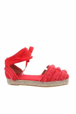 Εσπάδριλλες Castaner, Μέγεθος 41, Χρώμα Κόκκινο, Κλωστοϋφαντουργικά προϊόντα, Τιμή 36,86€