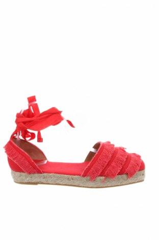 Εσπάδριλλες Castaner, Μέγεθος 38, Χρώμα Κόκκινο, Κλωστοϋφαντουργικά προϊόντα, Τιμή 40,70€
