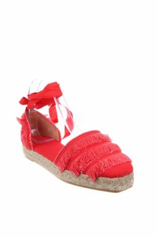 Εσπάδριλλες Castaner, Μέγεθος 39, Χρώμα Κόκκινο, Κλωστοϋφαντουργικά προϊόντα, Τιμή 36,86€