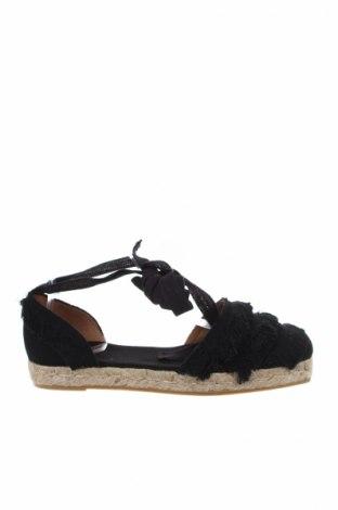 Εσπάδριλλες Castaner, Μέγεθος 35, Χρώμα Μαύρο, Κλωστοϋφαντουργικά προϊόντα, Τιμή 38,40€
