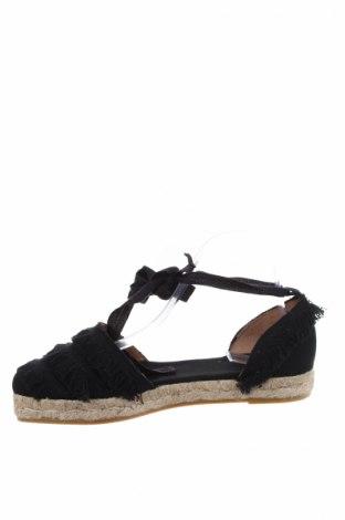 Εσπάδριλλες Castaner, Μέγεθος 40, Χρώμα Μαύρο, Κλωστοϋφαντουργικά προϊόντα, Τιμή 38,40€