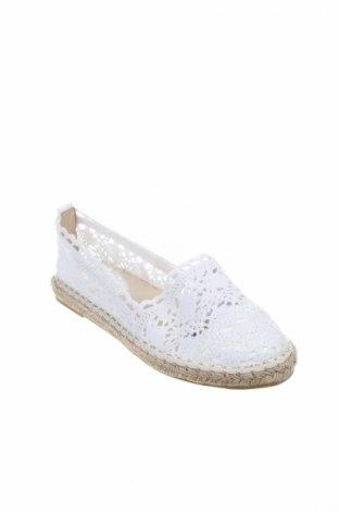 Εσπάδριλλες Coco Perla, Μέγεθος 36, Χρώμα Λευκό, Κλωστοϋφαντουργικά προϊόντα, Τιμή 15,91€