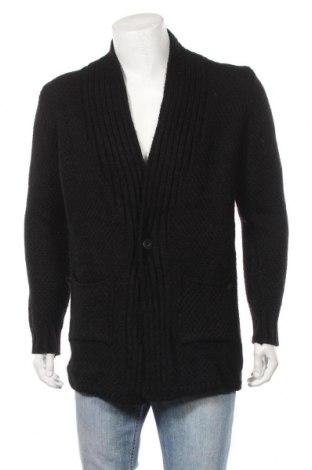 Мъжка жилетка Lee' Ecosse, Размер M, Цвят Черен, 70% вълна, 30% акрил, Цена 25,94лв.
