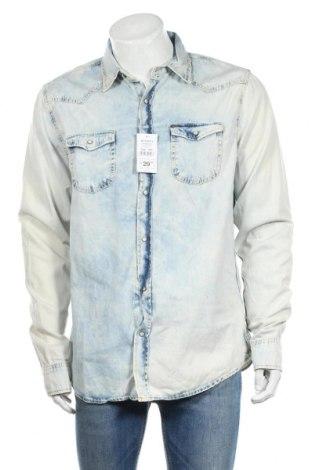 Мъжка риза Alcott, Размер XL, Цвят Син, Памук, Цена 44,00лв.