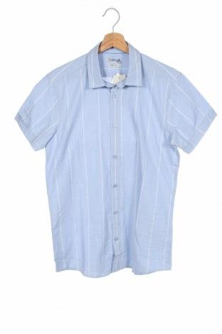 Ανδρικό πουκάμισο Best Mountain, Μέγεθος S, Χρώμα Μπλέ, Βαμβάκι, Τιμή 7,07€