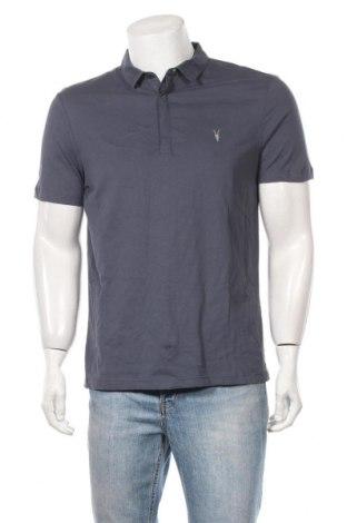 Ανδρικό t-shirt AllSaints, Μέγεθος L, Χρώμα Μπλέ, Βαμβάκι, Τιμή 19,77€