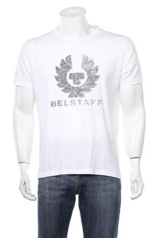 Мъжка тениска Belstaff, Размер L, Цвят Бял, Цена 29,80лв.