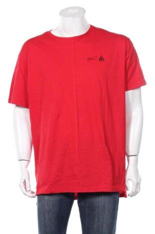 Ανδρικό t-shirt Boohoo, Μέγεθος L, Χρώμα Κόκκινο, Βαμβάκι, Τιμή 6,96€