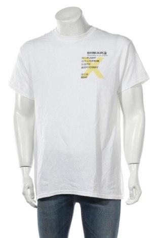 Ανδρικό t-shirt Boohoo, Μέγεθος L, Χρώμα Λευκό, Βαμβάκι, Τιμή 6,96€