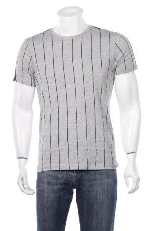 Ανδρικό t-shirt Brave Soul, Μέγεθος S, Χρώμα Γκρί, 90% βαμβάκι, 10% βισκόζη, Τιμή 6,43€