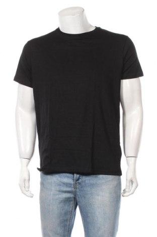 Ανδρικό t-shirt Brave Soul, Μέγεθος L, Χρώμα Μαύρο, Βαμβάκι, Τιμή 7,54€