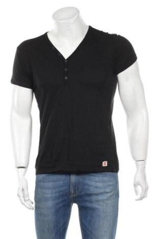 Ανδρικό t-shirt Japan Rags by Le Temps des Cerises, Μέγεθος M, Χρώμα Μαύρο, Βαμβάκι, Τιμή 20,77€