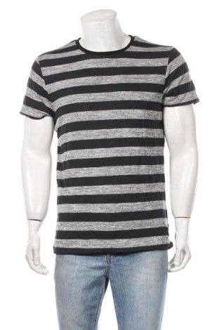 Ανδρικό t-shirt Japan Rags by Le Temps des Cerises, Μέγεθος XL, Χρώμα Γκρί, Βαμβάκι, Τιμή 22,41€