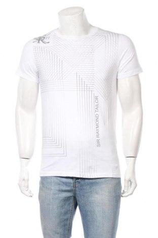 Мъжка тениска Sir Raymond Tailor, Размер S, Цвят Бял, Памук, Цена 33,12лв.