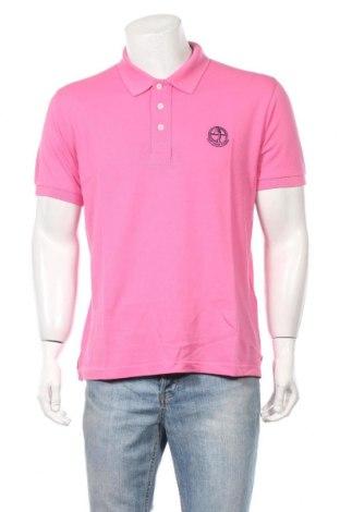 Мъжка тениска Sir Raymond Tailor, Размер L, Цвят Розов, Памук, Цена 33,12лв.