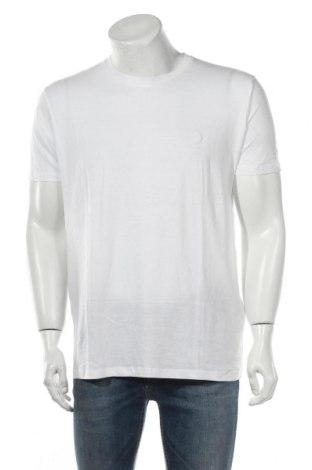 Ανδρικό t-shirt Springfield, Μέγεθος L, Χρώμα Λευκό, Βαμβάκι, Τιμή 6,43€